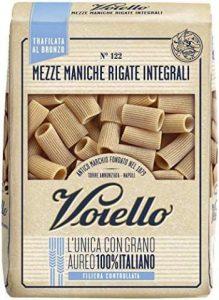 Voiello Pasta Mezze Maniche Rigate Integrali N.122