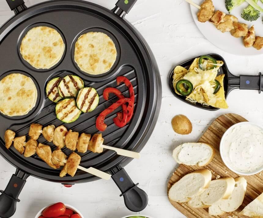 6 Migliori Raclette - Raclette Grill è la Fantasia