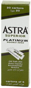 Astra Lamette da Barba Platinum