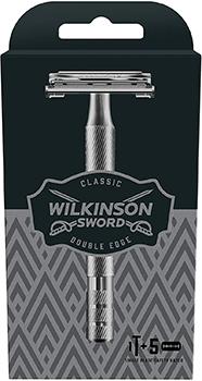 WilkinsonSword - Rasoio Classic Premium a Doppio Taglio