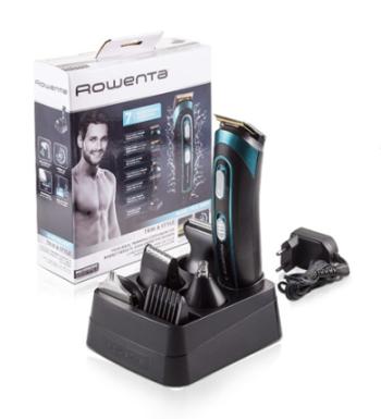 Rowenta TN9130 Trim&Style Grooming Kit 7 in 1 Uomo